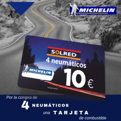10 EUROS DE COMBUSTIBLE CON MICHELIN